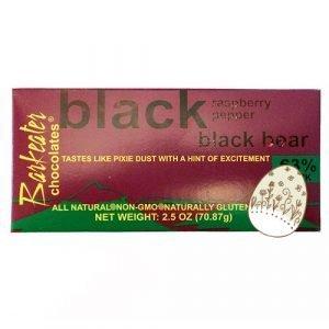 Black raspberry pepper black bear bar Eater Egg